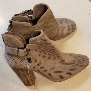 Vince Camuto Distressed Bootie